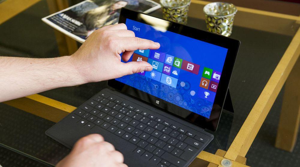 Microsoft Surface representerer en ny kategori enheter innen personlig IT-utstyr, som Gartner tror vil bidra til å bremse fallet i det tradisjonelle pc-markedet.