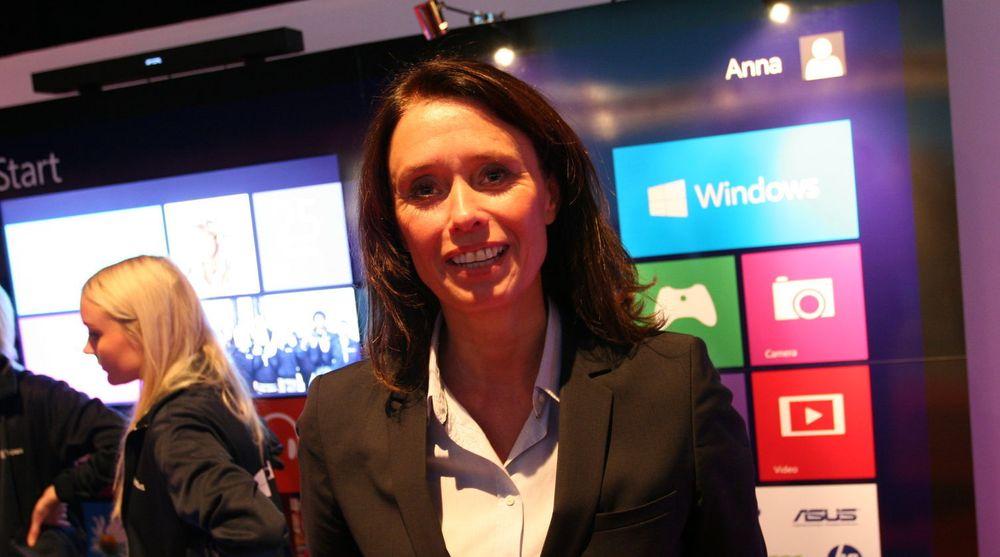 Slutter: Hege Skryseth gjør ikke som sine forgjengere i Microsoft, som rykket oppover i systemet.