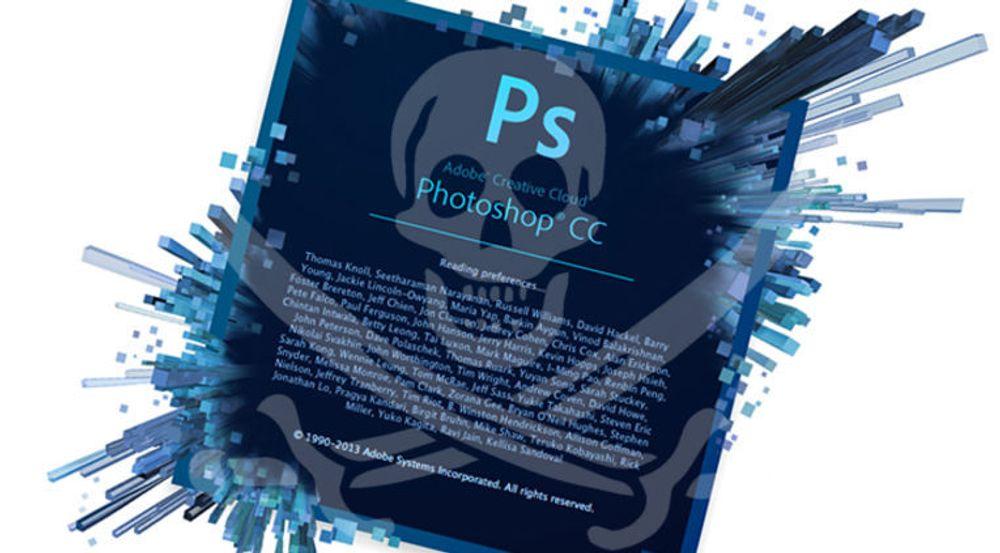 Det tok ikke lang tid. Nye Photoshop CC er allerede spredt i ulovlige kopier på alskens fildelingsnettverk.