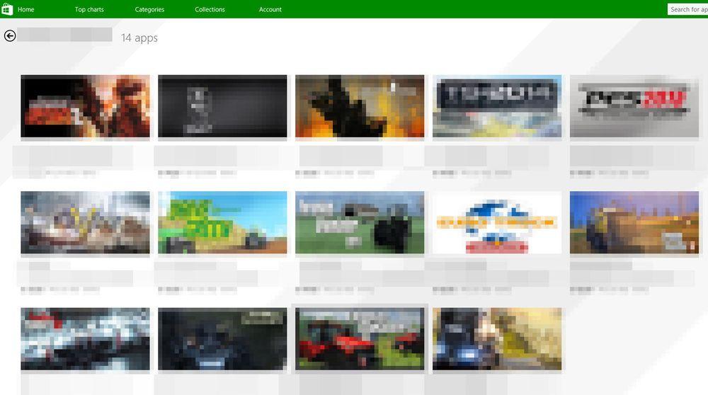 I Windows Store tilbys man tilsynelatende en rekke populære Windows-spill for langt lavere pris enn det som er vanlig. I virkeligheten dreier det seg om piratkopier.