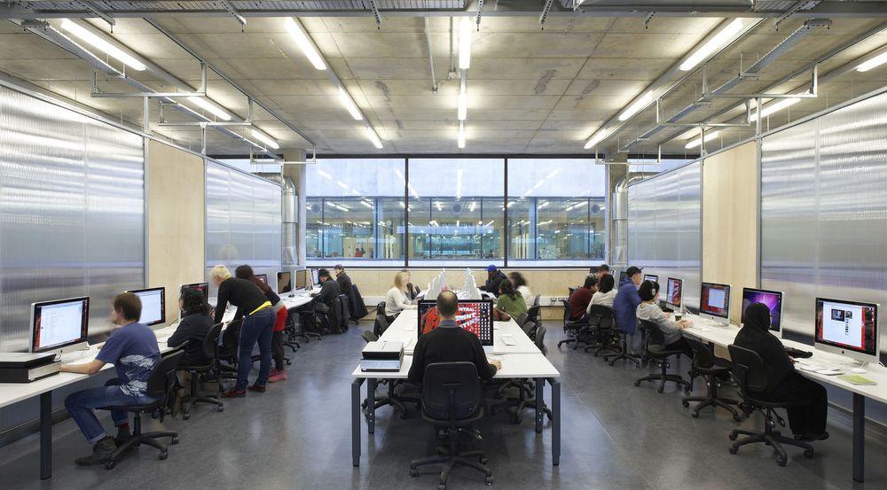 Moderne undervisning ved Central Saint Martins i London, 2011.