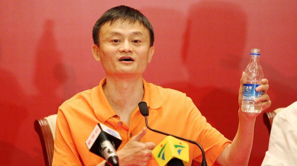 INNTAR NEW YORK: Gründer og styreleder Jack Ma Yun (49) i Alibaba Group er allerede før børsnoteringen Kinas rikeste mann, med en netto formue på 21,8 milliarder dollar eller 139 milliarder kroner. Jack Ma kontrollerer i dag 7,3 prosent av e-handelsgiganten.