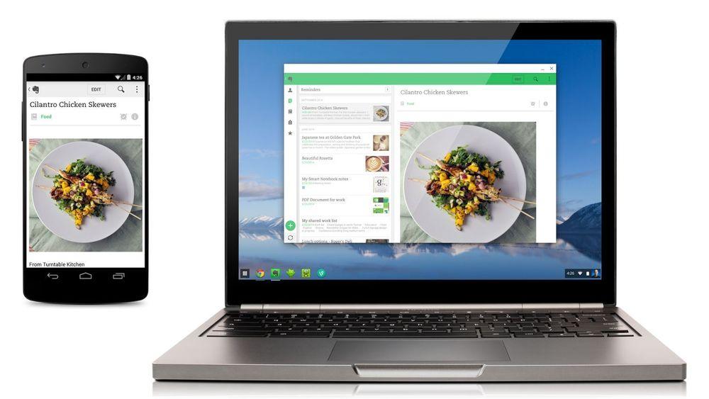 Nå kan en liten håndfull Android-applikasjoner også kjøres på Chromebooks.