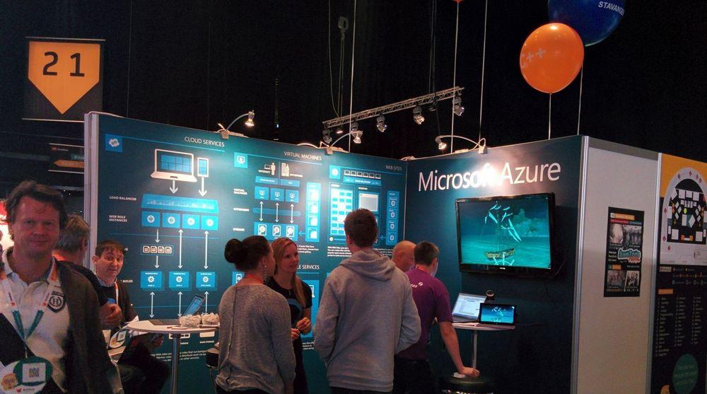 FØRST VAR DET UVANT, men nå er det helt naturlig for Microsoft å hjelpe javautviklere ut i skyen med løsninger som kjører på Linux, skriver teknologidirektør Børge Hansen. Bildet er fra JavaZone-konferansen i Oslo som åpnet i dag.