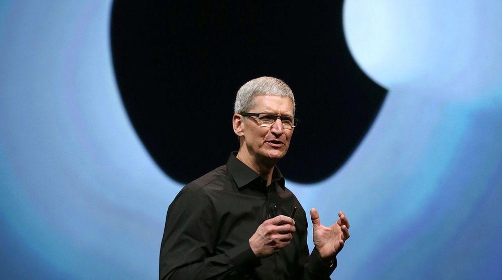 Apples Tim Cook tror at bedriftsmarkedet er et nytt vekstområde for selskapet hans.