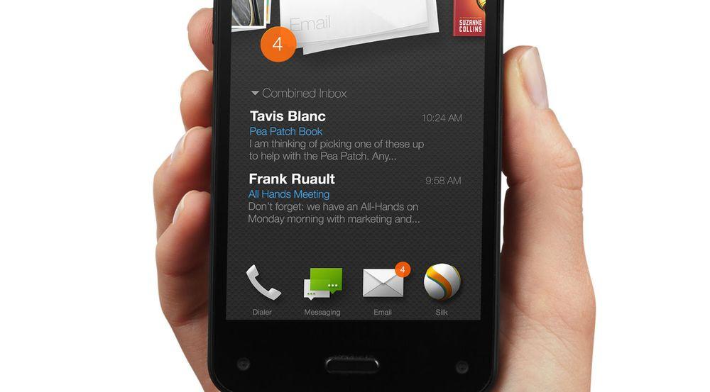 Etter to måneder på markedet kutter Amazon prisen på sin Fire Phone.