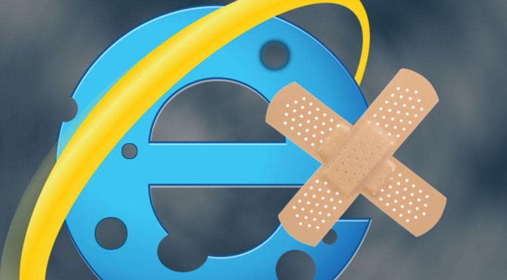 Internet Explorer må lappes til uken.