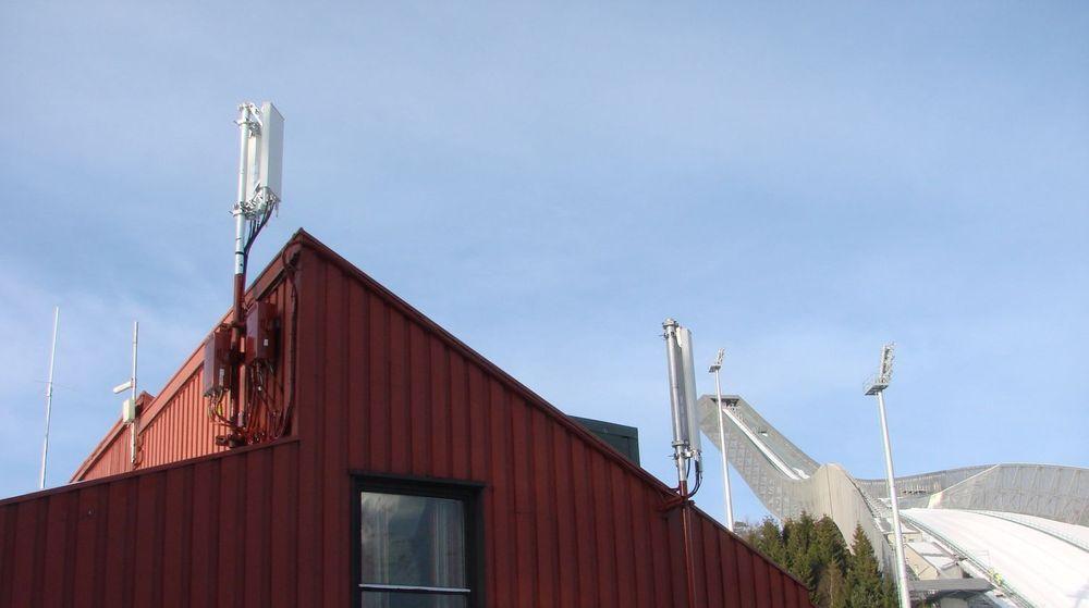 En av Netcoms 4G-master i Oslo.