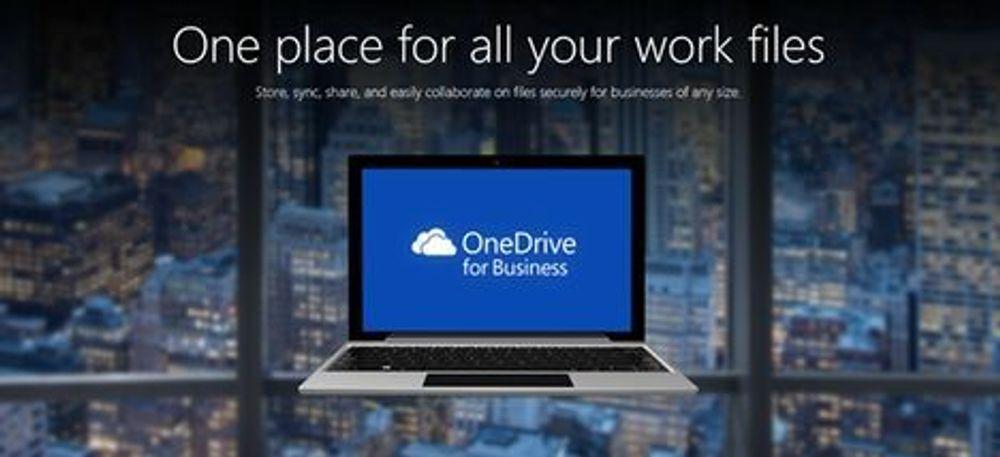 Øker OneDrive-kvoten til én terabyte