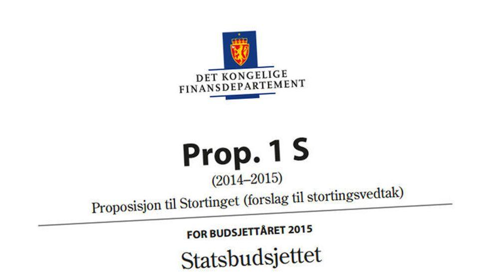 Regjeringen ønsker å bruke mer enn en halv milliard kroner på økt digitalisering i offentlig sektor i 2015, noe som ble klart da den la fram forslag til nytt statsbudsjett i går.