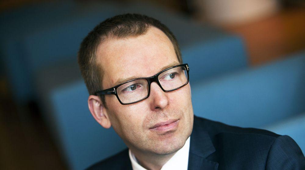 Abelia er glade for at regjeringen satser på norsk forskning. Her ved direktør Håkon Haugli.