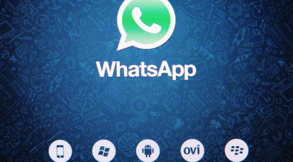 WhatsApp har det siste året vokst kraftig.