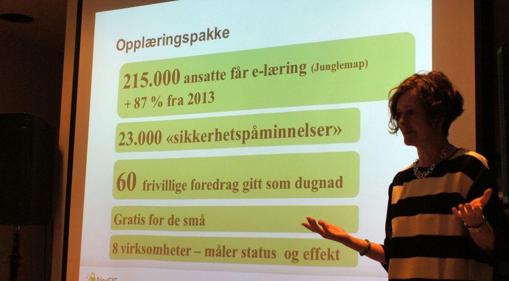 Konstituert adm.dir. i NorSIS, Tone Bakås, viser til veksten i interesse for opplæringspakken deres.