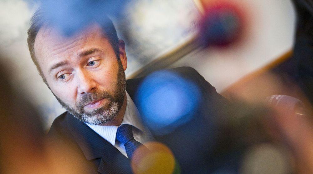 """Næringsminister Trond Giske (ap) har invitert en rekke IT-topper til korte """"minimøter""""; noen minutter der de kan fortelle om sitt syn på norsk næringsliv - og hvordan det bør se ut i årene som kommer."""