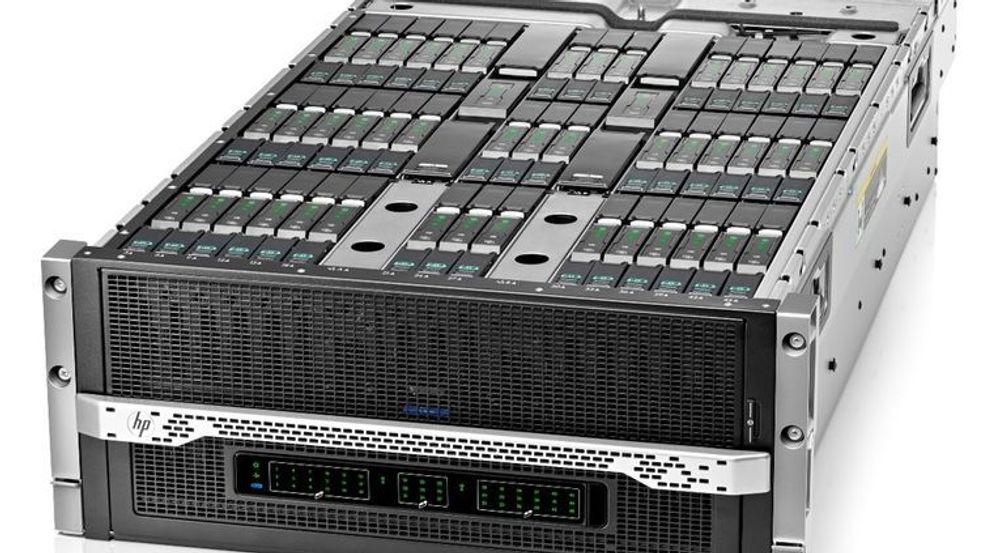 Chassiset HP Moonshot 1500 har plass til 45 av dagens ProLiant Moonshot-servere.