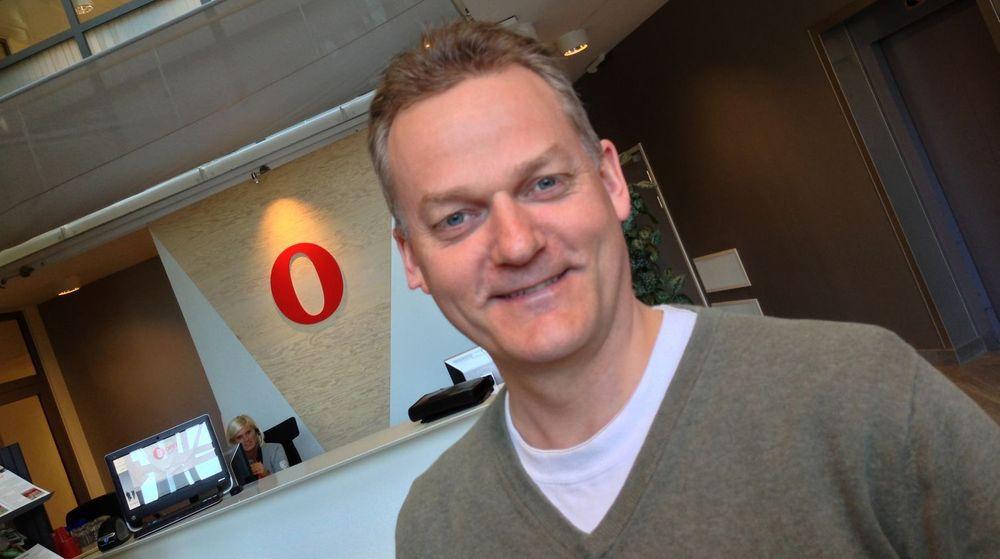 Lars Erik Bolstad i Opera Software mener at nyheten om at Google nå erstatter WebKit med Blink er en god nyhet både for Opera og for weben gerenelt.