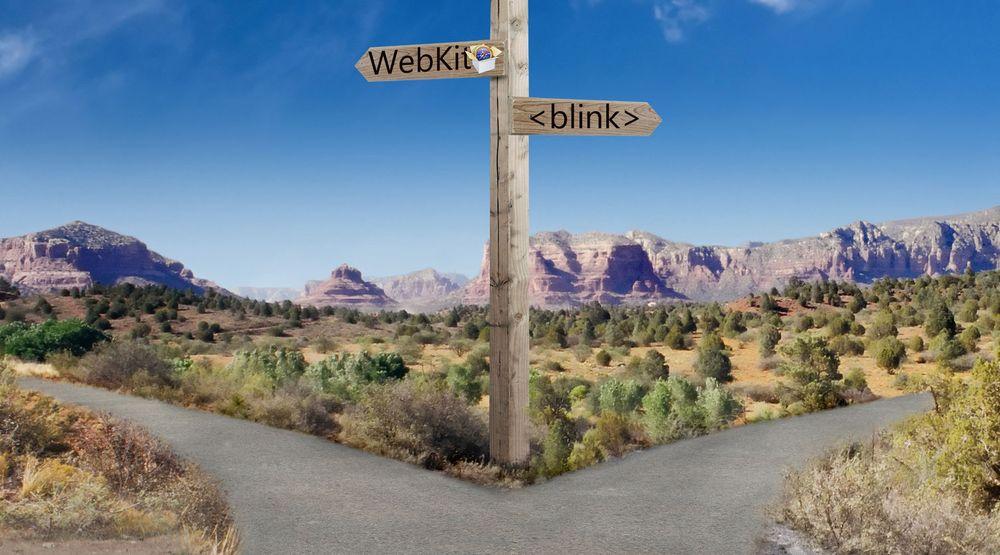 Google har laget et forgrening av renderingmotoren WebKit. Denne kalles for Blink og vil utvikles i en annen retning enn WebKit.