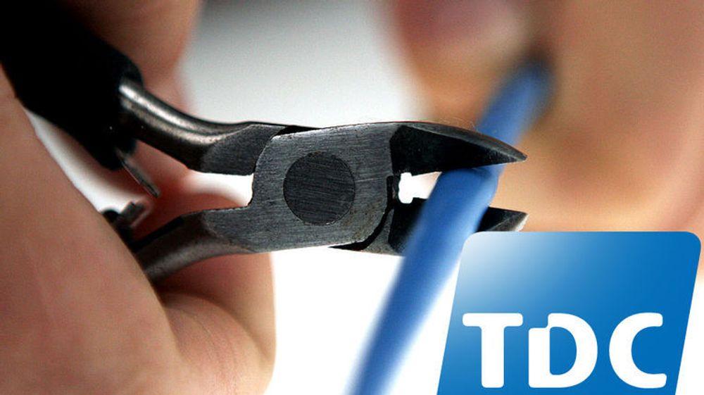 Flere av TDCs kunder har onsdag opplevd nedetid som følge av linjetrøbbel.