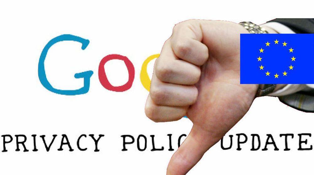 Personvernmyndighetene i EU-landene er lite fornøyde med personvernreglene Google innførte i mars 2012. Nå er det opp til hvert lands personvernmyndigheter å iverksette tiltak mot selskapet.