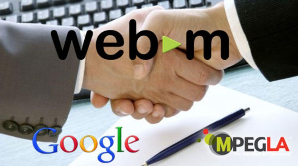 Nokia er ikke medlem av MPEG LA og er dermed ikke forpliktet av avtalen mellom organisasjonen og Google om patentlisensiering i videoteknologiene VP8 og WebM.