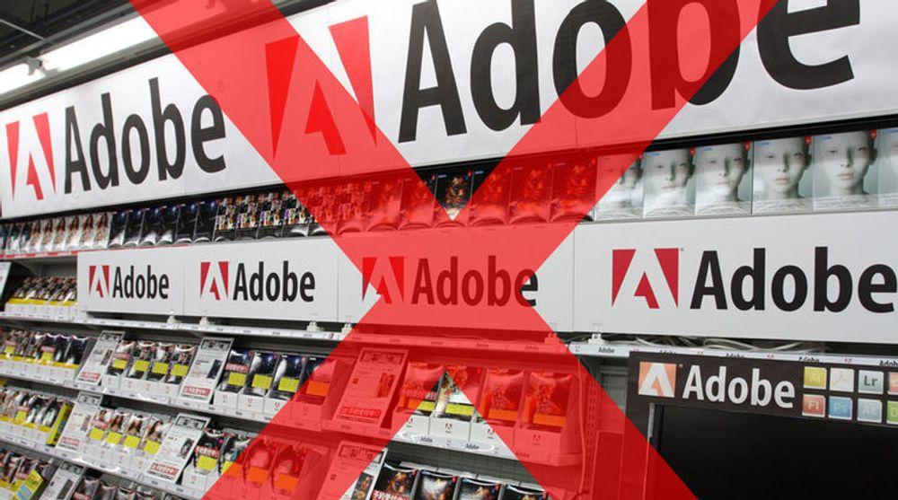 Adobe vil vekk fra butikkhyllene og opp i skyen.