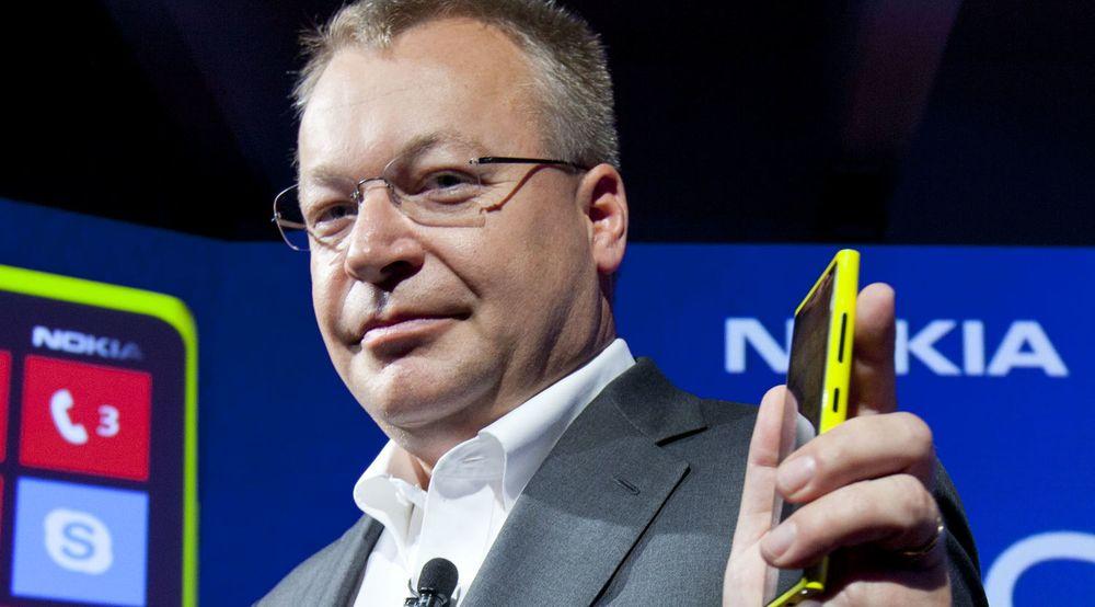 Neppe klar for å lede et kinesisk-eid mobilselskap: Nokia-sjef Stephen Elop. Selv med gårsdagens oppgang er aksjekursen deres ned 6 prosent hittil i år.