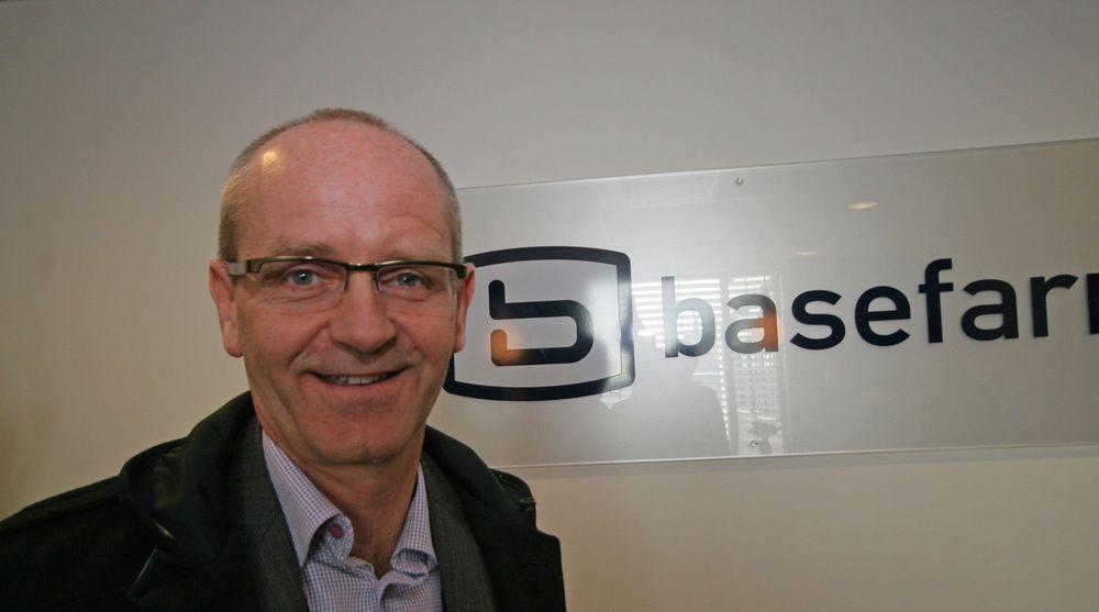 """Norgessjef Bjart Kvamme har signert to hyggelige driftskontrakter den siste tiden. En av kundene """"knabber"""" de fra IT-giganten Evry."""