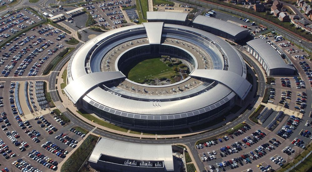 SPIONERTE PÅ ALLIERTE: Government Communications Headquarters (GCHQ) i Cheltenham er britenes motstykke til amerikanernes hystjeneste National Security Agency (NSA).
