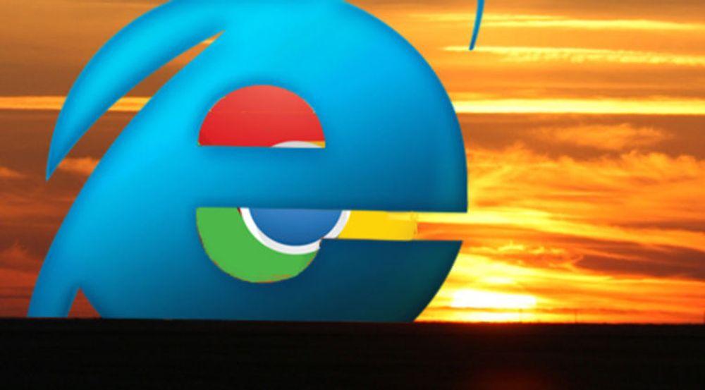 Google mener at tiden er inne for å pensjonere Chrome Frame.
