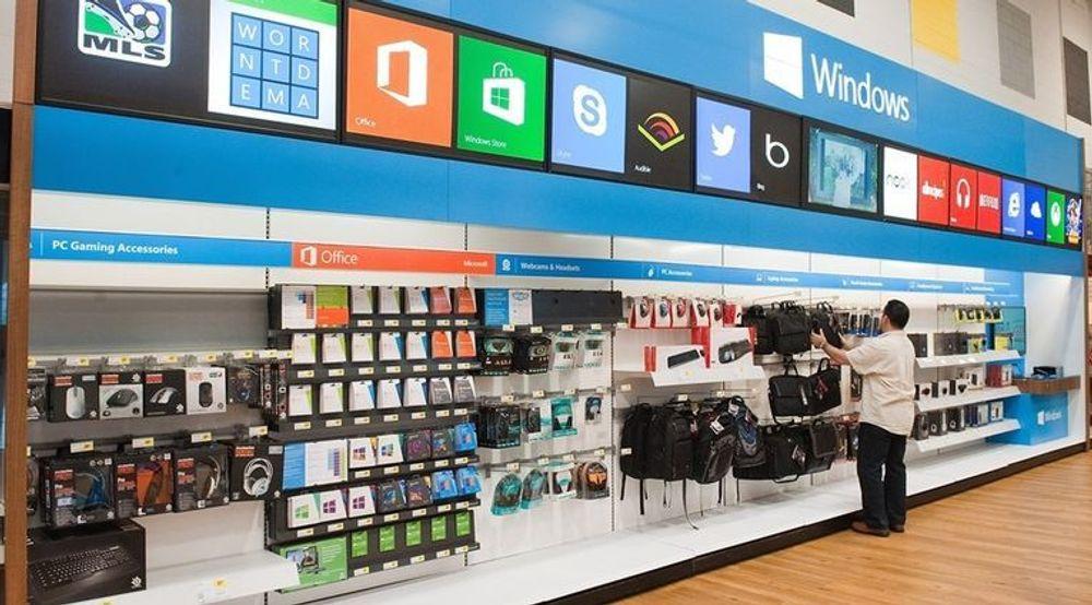 Microsoft åpner 600 nye butikker