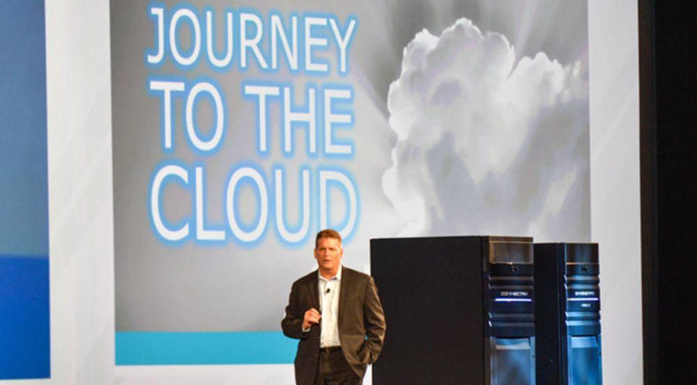 ViPR er en del av EMCs ferd mod skyen. Lagringssjef Brian Gallagher orienterer på EMC World 2013.