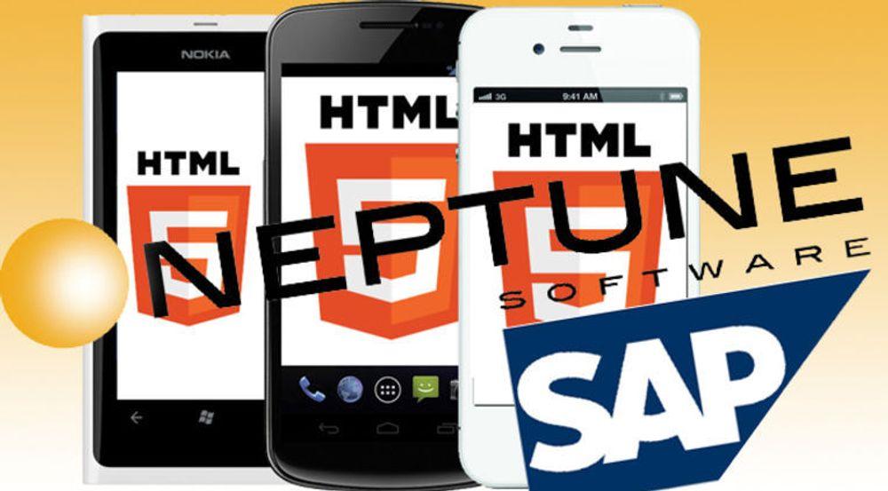Nyheten til Neptune lover brukervennlige SAP-apper til mobil, brett og pc, og at hybride applikasjoner skal være like raske som de plattformspesifikke.