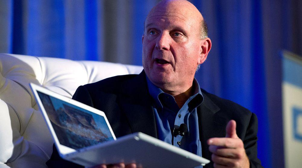Det labre pc-salget bør vekke bekymring for Microsoft og toppsjef Steve Ballmer (bildet), ifølge analyseselskapet IDC.