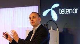 """Bjørn Ivar Moen i Telenor Norge er overbevist om at Telenor er best og raskest. Ifølge pressemeldingen har selskapet """"Norges desidert mest omfattende 4G-dekning""""."""