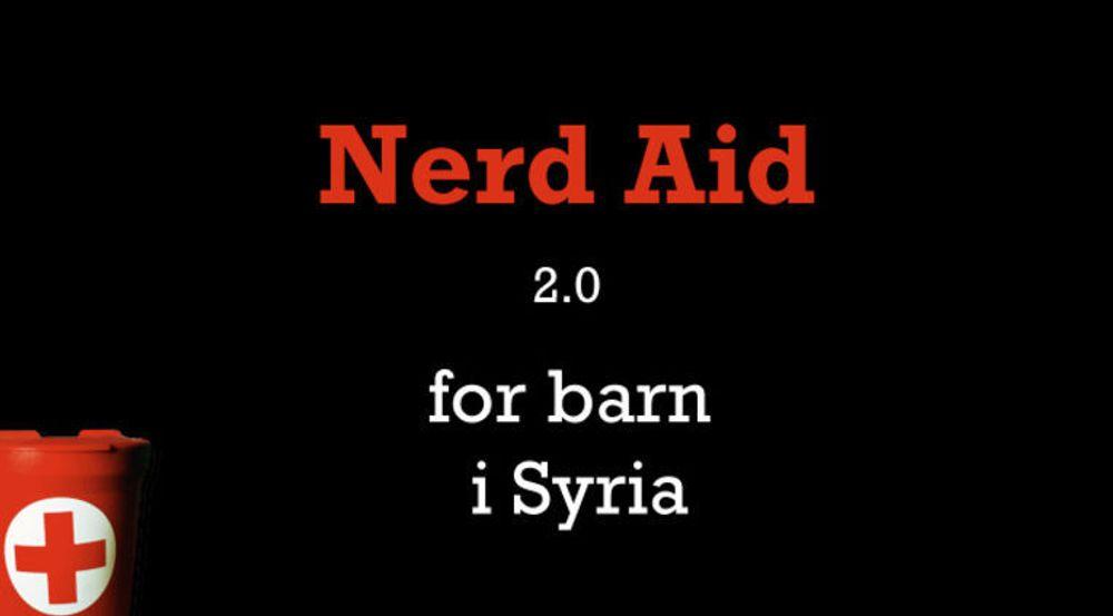 Greier Nerd Aid 2.0 å samle inn 1 million kroner før sommerferien?