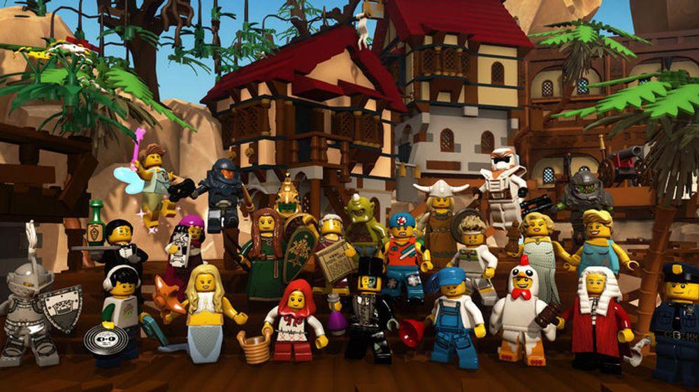 Funcom har redusert forventningene til nylanserte Lego Minifigures Online.