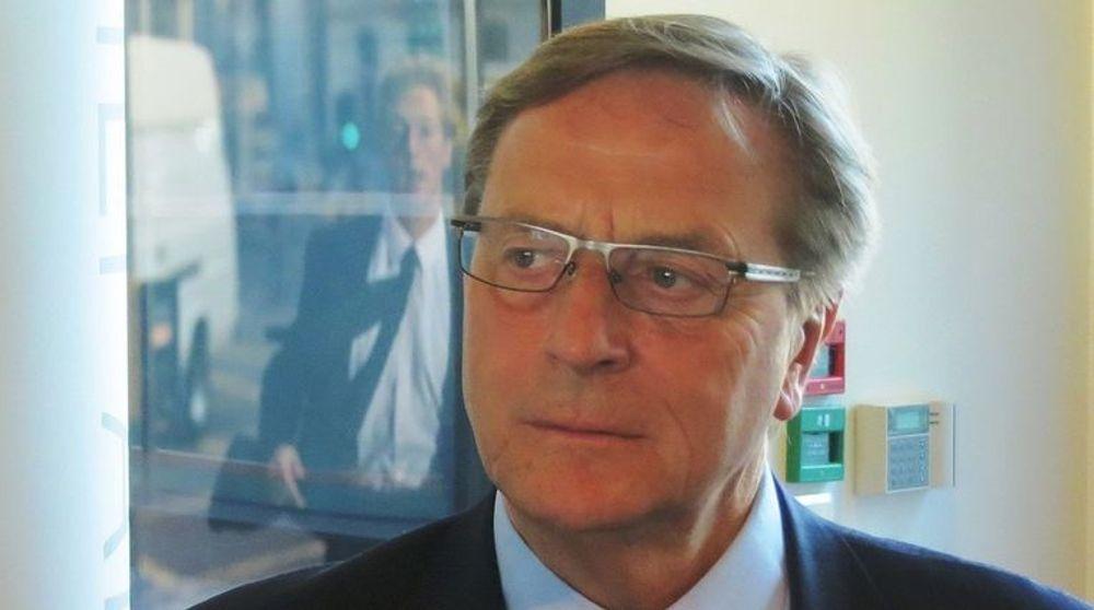 Telenors styreleder Svein Aaser gikk av med umiddelbar virkning i dag.