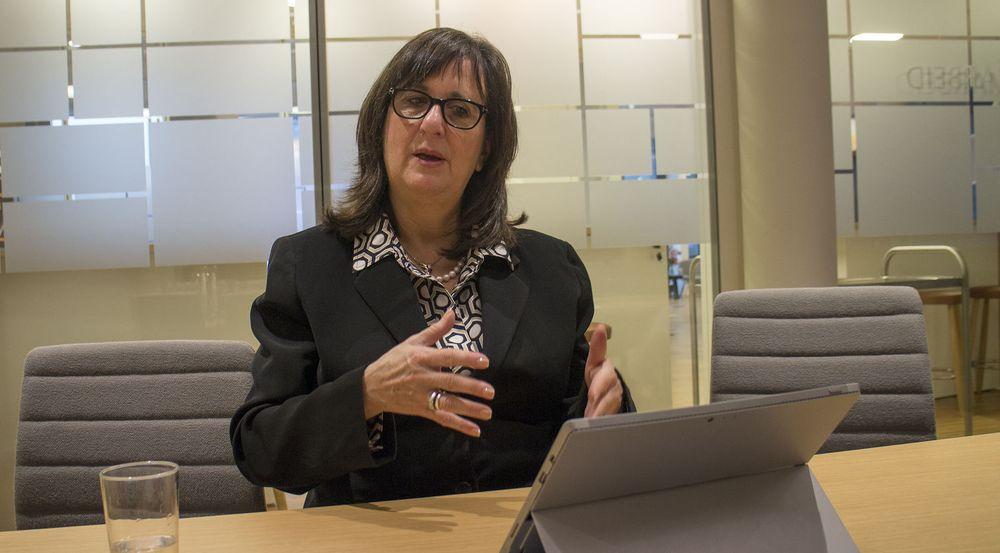 Susan Hauser leder divisjonen med ansvar for Microsofts største kunder og partnere.