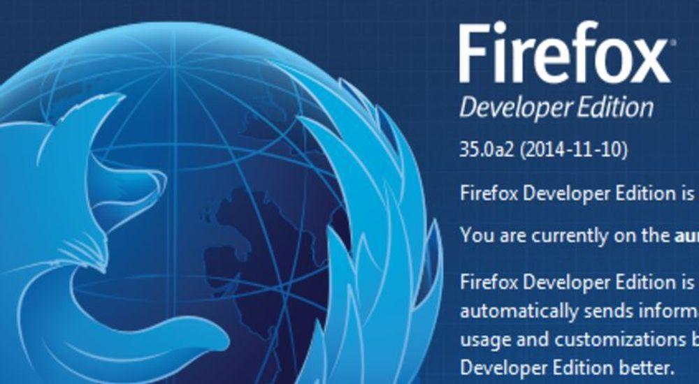 Firefox Developer Edition erstatter Aurora-kanalen.