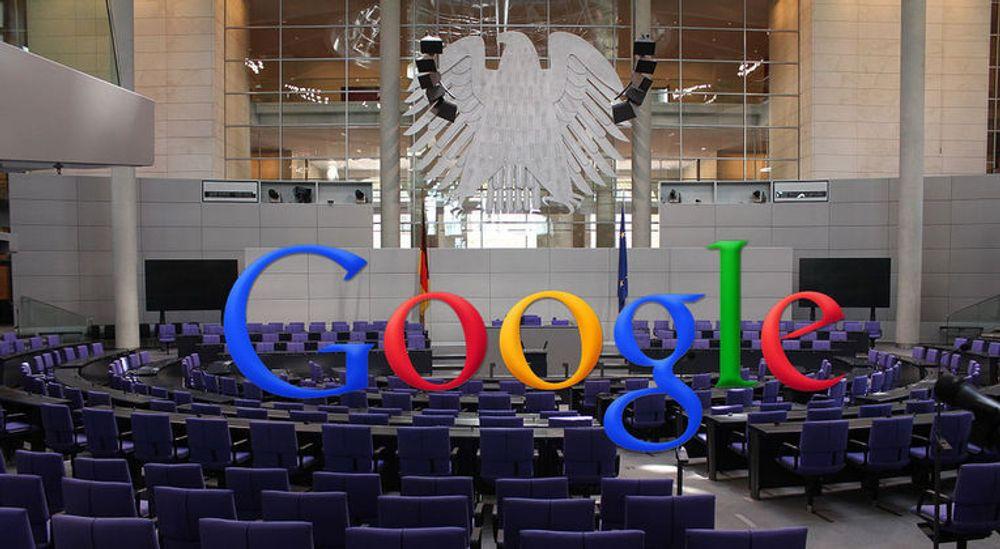 POSE; IKKE SEKK: Den tyske Forbundsdagen vedtok i fjor en ny åndsverklov som blant annet strammet inn på bruk av avisartikler i uavhengige nyhetsoversikter. Tyske medier har kjempet for at Google må betale for slike utdrag i sin Google News-tjeneste, men realiteten er at trafikken de får av dette oppleves som viktigere.