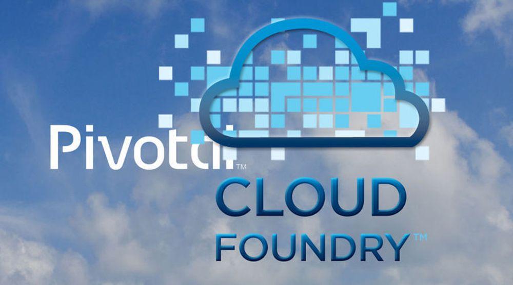 Pivotal tilbyr en kommersiell utgave av den åpen kildekode-baserte nettskyplattformen Cloud Foundry.