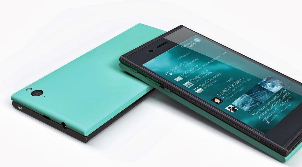 Jolla-mobilen skal leveres med ulike bakdeksler (The Other Half) og operativsystemet Sailfish.