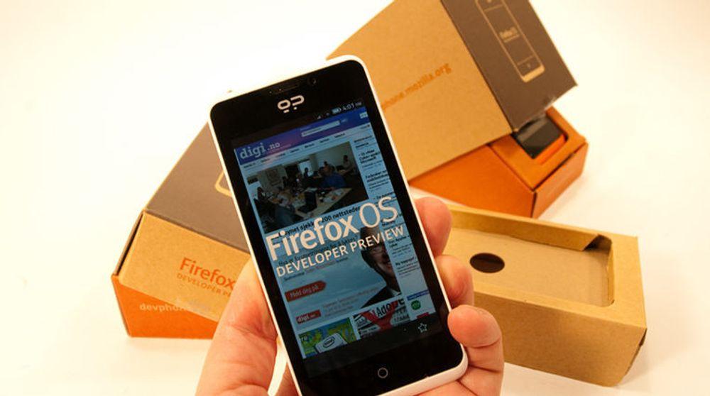 Firefox-mobil kan bli din