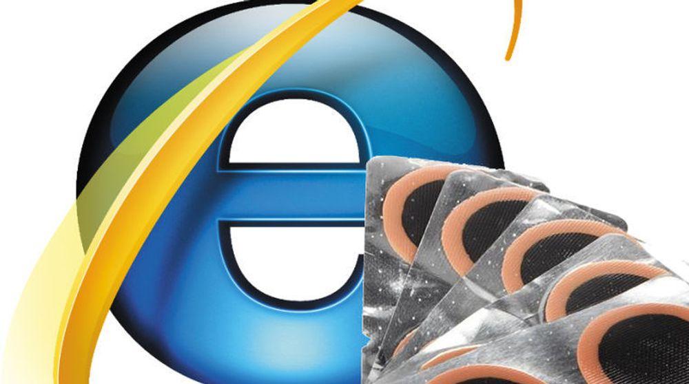Microsoft kom i går med lappesaker til sikkerhetshull i Internet Explorer og flere andre programvareprodukter.