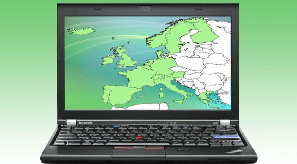 Lenovo vokste med over 7 prosent i et marked som krympet med 20 prosent. Bildet viser en Thinkpad x220a.