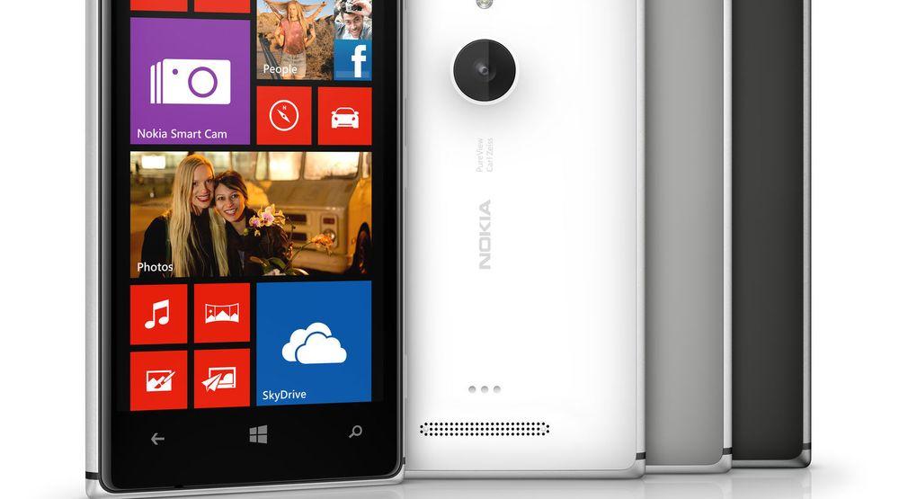 Nokia Lumia 925 leveres med metallramme og bakdeksel i farget plast.