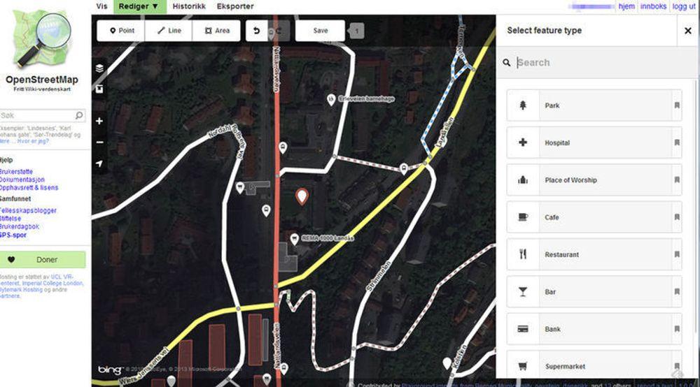 Redigeringsverktøyet iD skal gjøre de fleste i stand til å gjøre endringer i OpenStreetMap med bare noen må minutters opplæring.