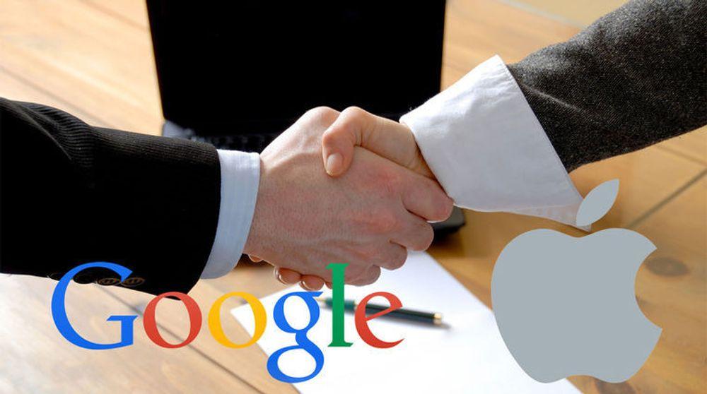 Google og Apple har inngått våpenhvile i selskapenes patentstrid.