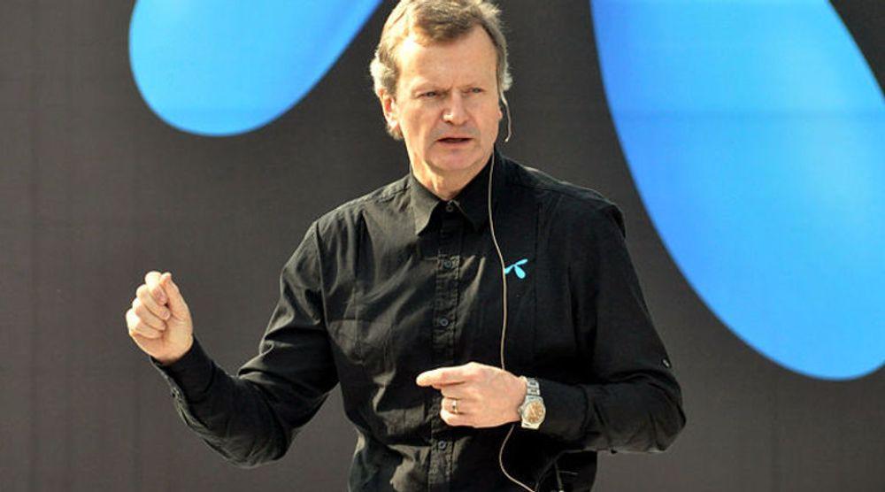 Ny organisering av Telenor-konsernet skal gi mer fleksibilitet, ifølge Jon Fredrik Baksaas.