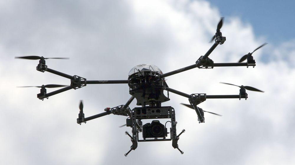 DRONER skal bistå politiet i Peru med å fakke forbrytere.